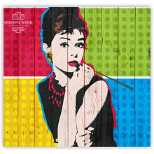 Creative Wood Pop-art Pop-art - 10 Одри