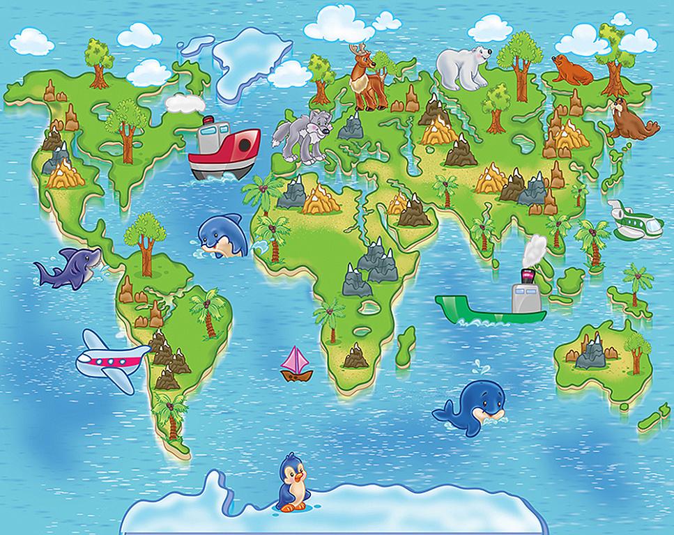 география страны в картинках немного