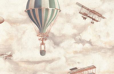 Обои 9070-01, Balloon, Monte Solaro